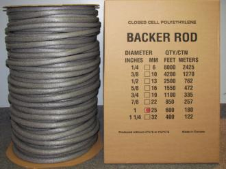 Backer Rods Alcot Plastics Ltd